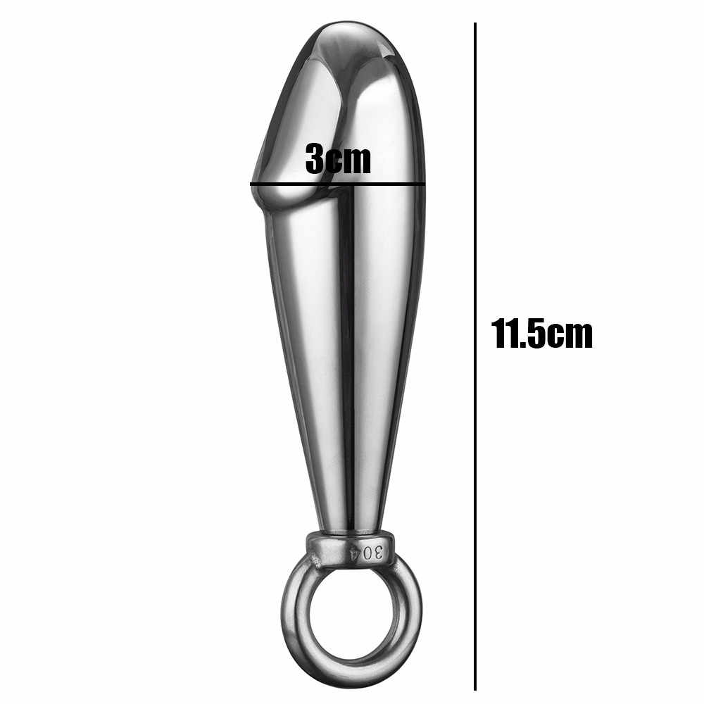 1 шт. железное кольцо с ювелирными заглушками для рождения анальный алюминиевый сплав женский эротическая Анальная пробка из нержавеющей игрушки продукты Анальная пробка W322
