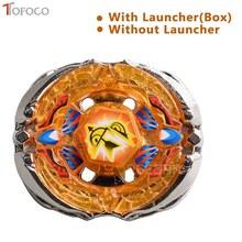 TOFOCO Genuine Tomy Beyblade Pegasus BB126 Orange Metal Fusion Beyblade Rock pegasis Spinning Top Toys