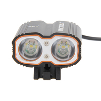 6000Lm 2 LED Bright Bike Lamp Bicycle Light 4 Switch Moded Bicycle Headlight Waterproof Outdoor Headlamp