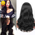 Glueless Full Lace Human Hair Wig For Black Women 7A Body Wave Lace Front Human Hair Wigs 130% Density Brazilian Virgin Hair Wig