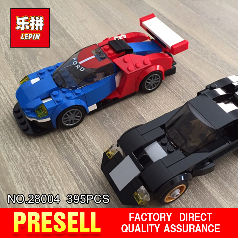 Lepin 28004 395Pcs Super Racer Series The Racing Car Set Children Educational Building Blocks Bricks Toys Model Gift 7588 international version xiaomi redmi note 4 3gb 32gb smartphone gold