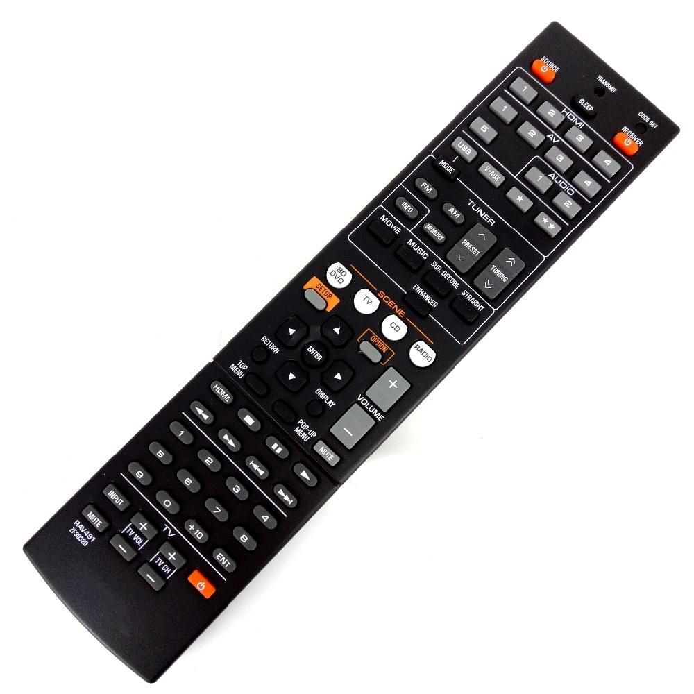 Used scratc 60 new original remote control for yamaha for Yamaha remote control app