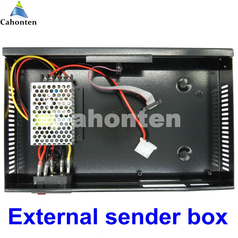 Linsn TS802 sender box ,Full Color sending box LED screen sending Card with MW power supply ,support nova, dbstar,linsn linsn com700 media player with a industrial pc ts802 sending card