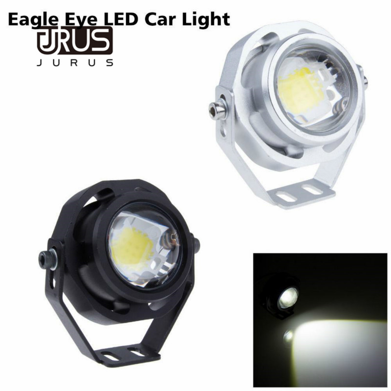 2pcs Super Bright 10W Car DRL Eagle Eye Light LED Fog Lights Daytime Running Light Reverse Parking Light Lamp IP67 waterproof leadtops car led lens fog light eye refit fish fog lamp hawk eagle eye daytime running lights 12v automobile for audi ae