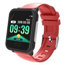 New E33 smart watch 1.3 inch step ECG dual heart rate blood pressure sleep monitoring ECG+PPG Bluetooth sports smart bracelet ad8232 single lead ecg analog front end acquisition ecg monitoring ecg sensor development board