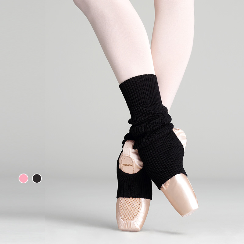 Women Yoga Socks Gym Fitness Dancing Pilates Female Daily Wear Exercising Knitted Leg Warmers Dance Accessory Protector Socks
