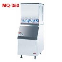 MQ-350 1550W Ice hose 350 kg / 24h ice maker machine r134a for ice maker maker / electric stainless steel ice maker 220V/50 Hz