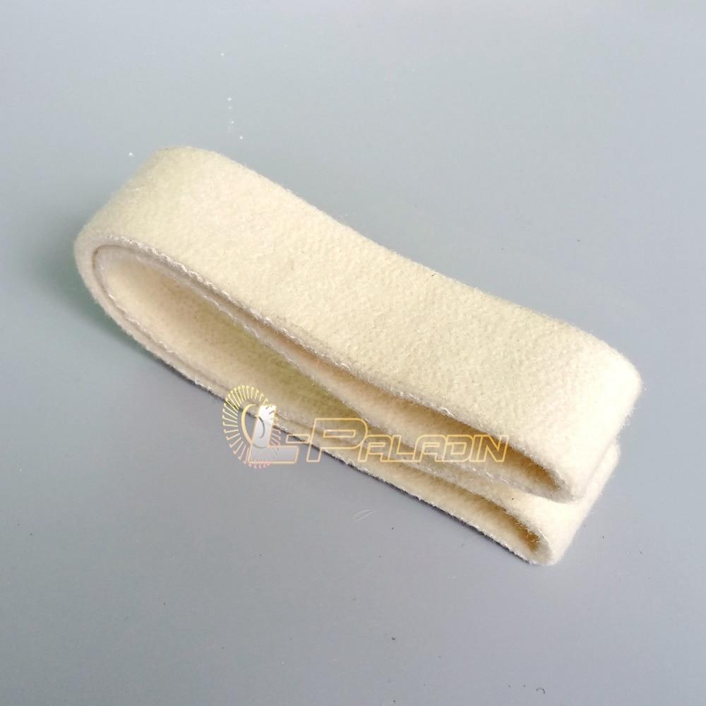 3 piezas 40 * 740 mm Cinturón de pulido de fieltro de lana - Herramientas abrasivas - foto 3