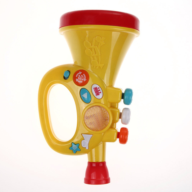 Music Speaker Toy Functional Early Educational Musical Instrument Toy Microphone Mic Speaker Toys Gift for Kids Children