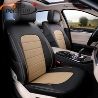 AutoDecorun 100% coverage car seat cover set for cadillac srx accessories 2011 automobile seat cover cars cushion cover supports