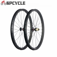 Spcycle 27.5er Carbon MTB Bicycle Wheels 650B Mountain Bike Carbon Wheelsets Novatec 791/792 Hubs Front 15mm Rear 12mm Thru Axle