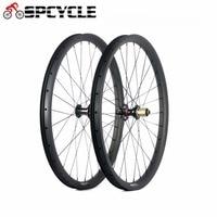 Spcycle Carbon MTB Wheelset 27.5er Mountain Bike Carbon Wheels 650B Bicycle Wheels 791/792 Hubs Front 15mm Rear 12mm Thru Axle