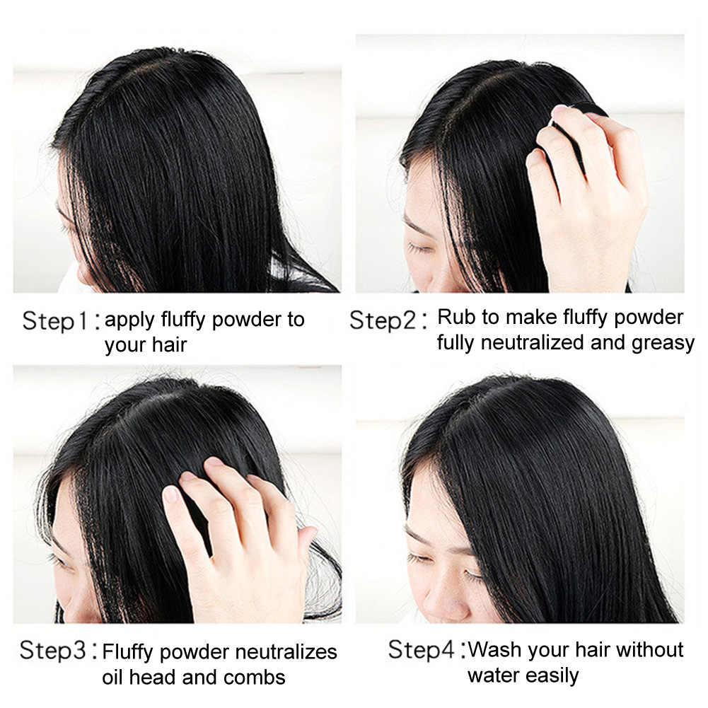 Освежающее масло контроль устойчивая краска для волос пушистый порошок стрижка прическа инструмент шапочка для парикмахерской покрытия