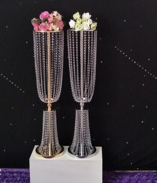 2pcs 31 4 tall acrylic crystal wedding road lead wedding centerpiece event wedding decoration event party
