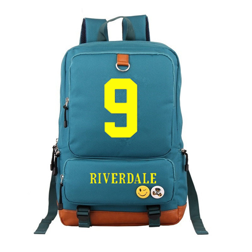 3bcaeba62e Dropwow American TV Riverdale South Side Serpents Backpacks for ...