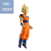 Presale August Banpresto Dragon Ball Super Saiyan 2 Goku Figure Action Figurals Model Brinquedos