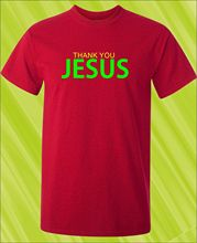 THANK YOU JESUS T-Shirt Christian Jesus Bible Religion Religious God Gift New T Shirts Funny Tops Tee New Unisex Funny Tops cross t shirt religious religion swag jesus god christian faith bnwt gothicfree shipping tops t shirt
