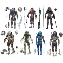NECA Predator 30th Anniversary Jungle Patrol Ontmoeting Extractie Disguise Nederlands Jungle Hunter Ontmaskerd Demon Action Figure gift(China)