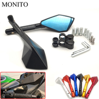 Universal CNC Motorcycle Rear View Mirror Motorbike Rearview Side Mirror For YAMAHA XMAX 125/250/300/400 VMAX 1200 1700 FJR 1300