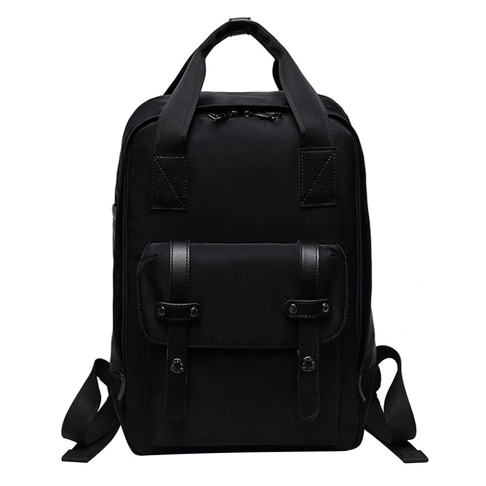 ФОТО Men Messenger Bag Vintage Male Backpack Student Shoulder Crossbody Bags Handbag Design Waterproof Oxford Black Messenger Bags