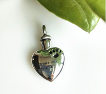 Prints on My Heart Urn Pendant