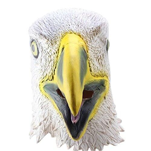 PHFU Creepy aigle Masque tete pour Halloween Costume Party Decorations Theatre Prop Nouveaute Latex