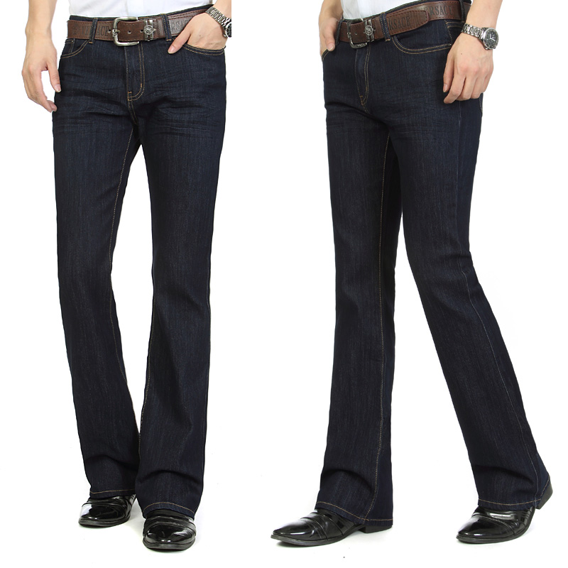 Mens slim bootcut dress pants – Super Jeans in dieser Saison