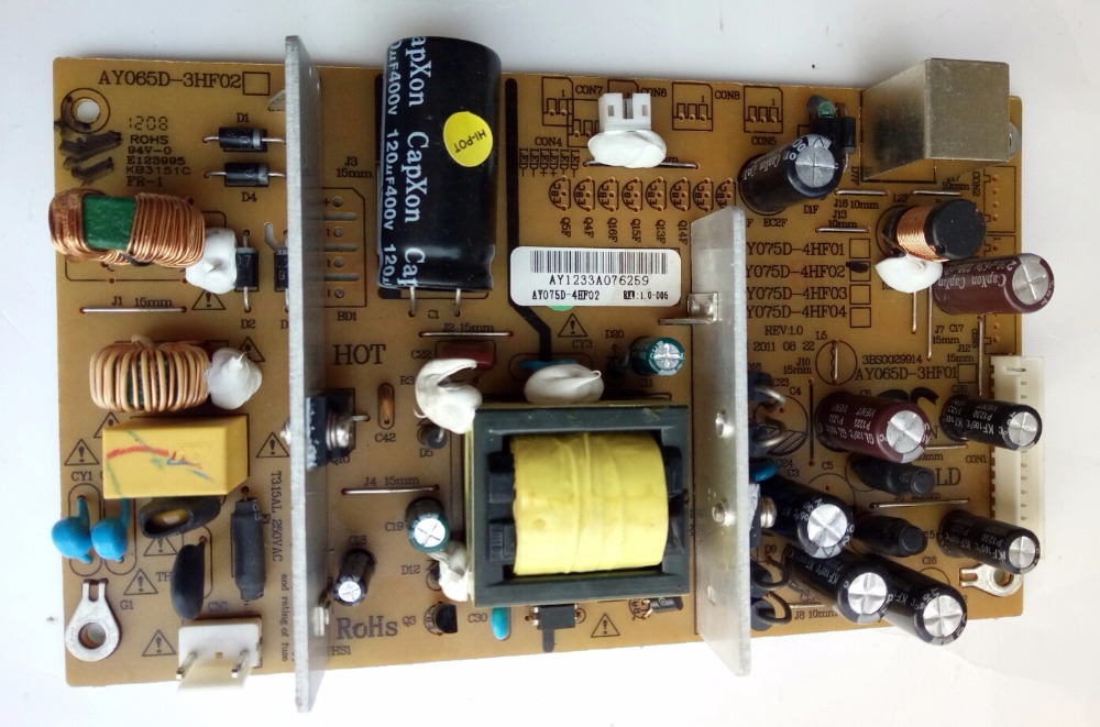 AY065D-3HF01 AY075D-4HF01 Good Working Tested беспроводная зарядная панель tronsmart wc01 airamp wireless fast charger black