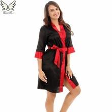 Robe Floral Robe Women Sleepwear nightwear Home Clothing Bathrobe Night dress Home Gown sexy Sleepwear Nightgown Homewear