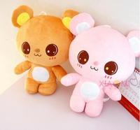 50 cm atacado Fábrica de nova Miss urso de brinquedo de pelúcia Rosa e marrom urso Dos Desenhos Animados Casal com presentes