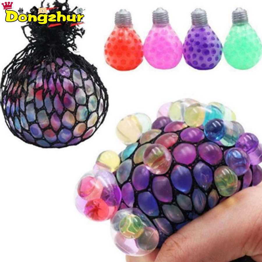 1pc Vent The Grape Ball Black Net Toys Antistress Grape Ball Mood Squeeze Relief Toys For Stress Fun Jokes