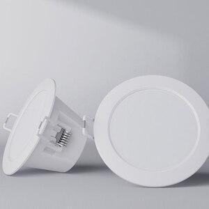 Image 2 - סיטונאי מקורי Youpin חכם Downlight Wifi לעבוד עם Mi בית App שלט לבן וחם אור חכם שינוי אור