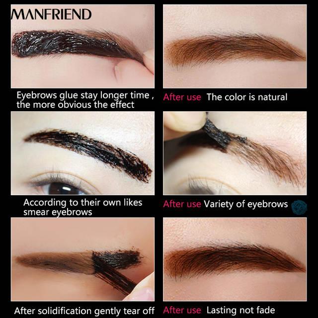 Online Shop Eyebrow Cream Cosmetics Makeup Coffee Brown Waterproof