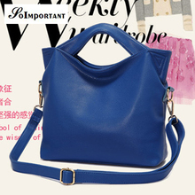 Famous Brand PU Leather Women Bucket Bags Women Casual Tote Handbag Female High Class Messenger Bag Lady Luxury Shoulder Bag