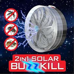 Летние Солнечные Москитная Убийца лампы Buzz УФ лампы свет Спальня Fly насекомых ошибках комара убить Zapper убийца Крытый Открытый