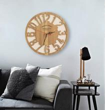 Pastoral Creative Wooden Wall Clock