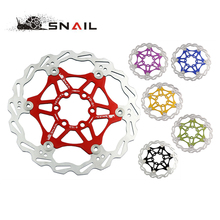 SNAIL Brand MTB DH 6 inch 160mm and 180mm Float Floating Disc Brake Rotor Cycling Bicycle Rotors