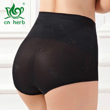 цены Cn Herb Female Postpartum Body Thin Section Of High Waist Waist Belly Pants Body Pants Body Scar No Pants Under The Hip Shorts