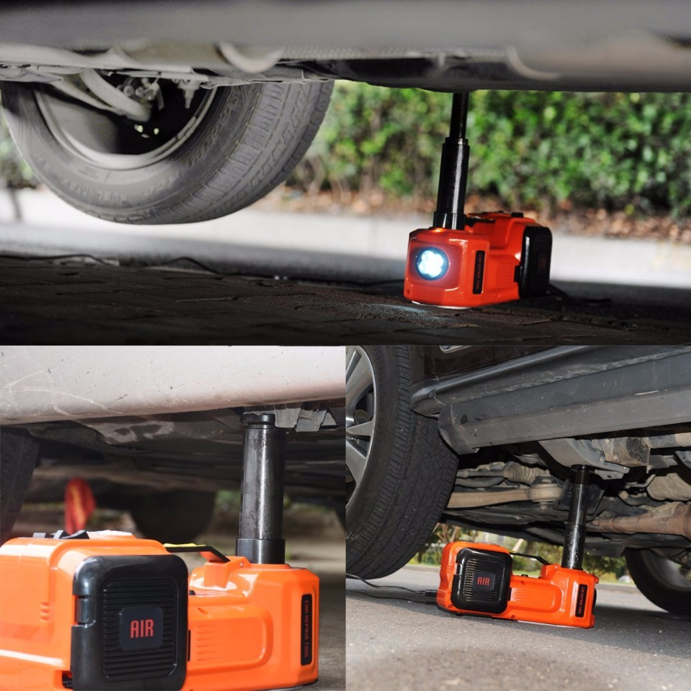 High Quality Electric Hydraulic Lifting Jack For 3 Tons Suv Lift For Dark Environment