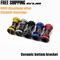 Ceramic BB 68 Bottom Bracket Shell 68/73MM Screw/Thread Type BSA Crankset Bearings Bicycle Axis