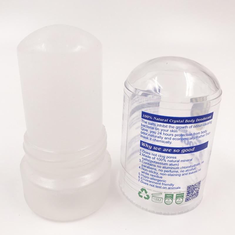 MOONBIFFY New 60g Alum Stick Deodorant Stick Antiperspirant Stick Alum Crystal Deodorant Underarm Removal For Women Man(China)