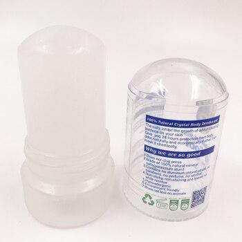 MOONBIFFY New 60g Alum Stick Deodorant Stick Antiperspirant Stick Alum Crystal Deodorant Underarm Removal For Women Man