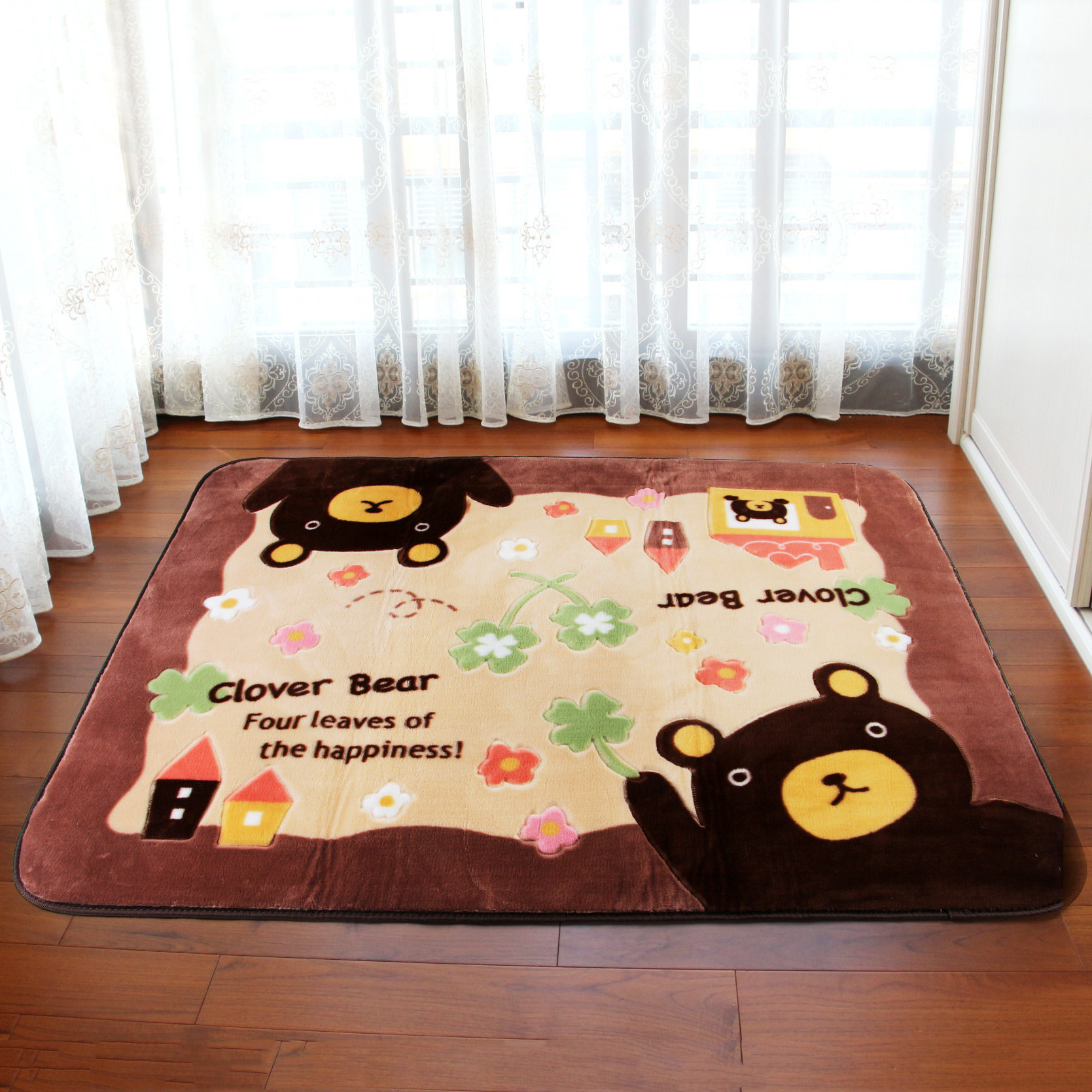 Cartoon Baby Crawling Mat Large Living Room Carpet Kids Floor Mats Modern Yoga MattressChina