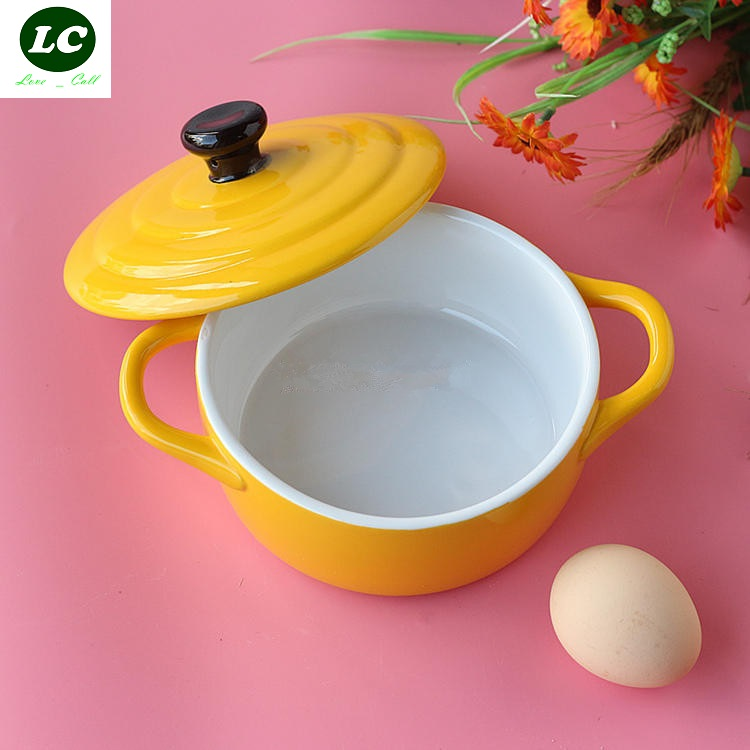baking bowl ceramic with cover dessert font b Salad b font bowl