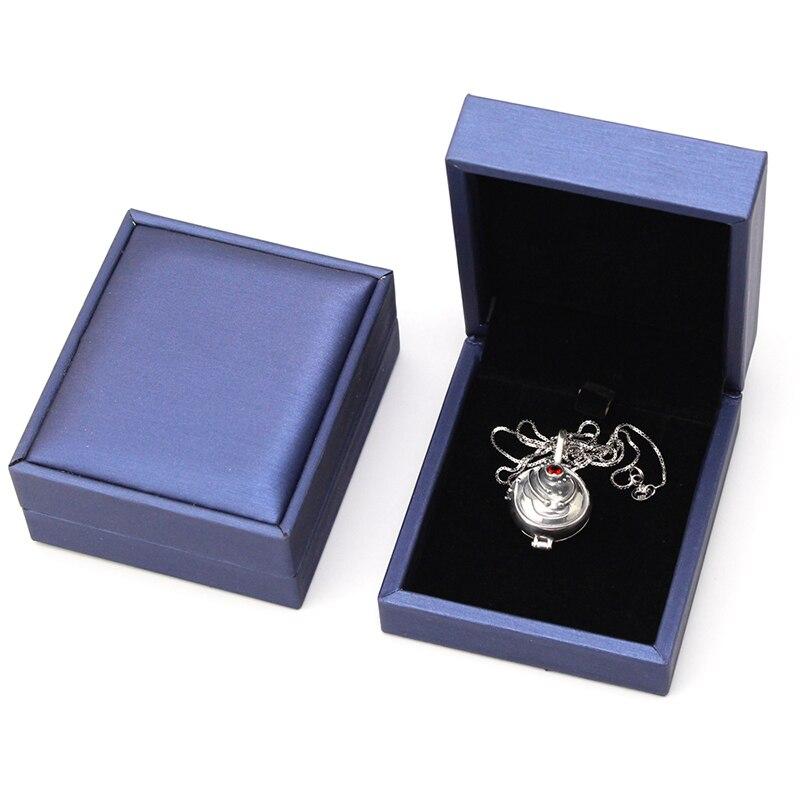Vampire Diaries Elena Gilbert Collier 925 Argent Vintage Pendentif Verveine Ouvrable Bijoux Cadeau collier pour femmes Cadeau De Noël