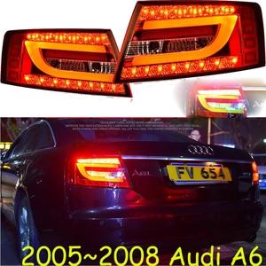 Image 5 - Bumper lamp for 2Pcs Headlights A6L 2005 2006 2007 2008 2009 2010 2011 car accessories,a6l car lights LED Daytime Running Lights
