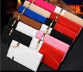 Luxury Zipper Wallet Flip PU Leather mobile phone Bags Credit Card Holder Stand Cover case for iPhone 6 6s 4.7 5.5 inch plus