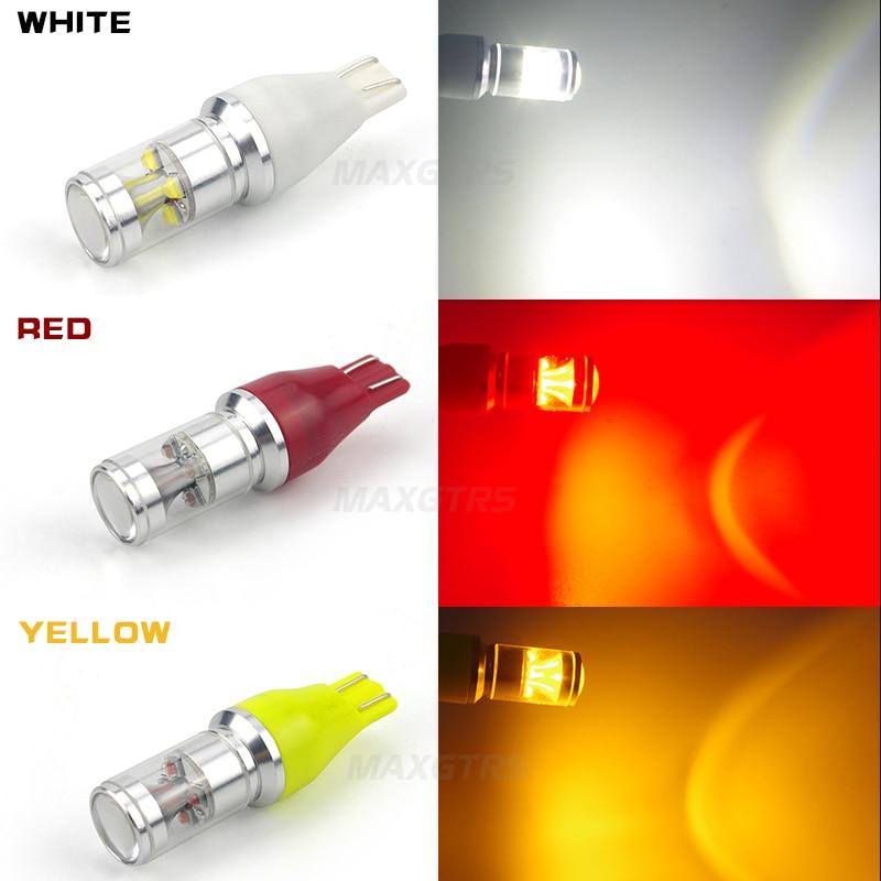 2X T15 912 921 W16W LED 30W Ekstremal Parlaq Cree Çip XBD Ampullər - Avtomobil işıqları - Fotoqrafiya 5