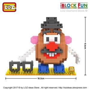 Image 3 - Loz Diamant Blokken Plastic Bouwstenen Kids Kinderen Gift Educatief Speelgoed Cartoon Model Educatief Diy Building Figuur 9505