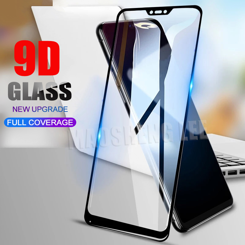 New 9D Tempered Glass For Xiaomi Mi A1 A2 Lite Full Cover Screen Protector Tempered Glass For Xiaomi Mi 5X 6X Glass Protective